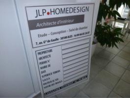 panneau de chantier architecte